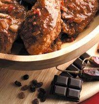 Ricetta afrodisiaca.. pollo 'dolceforte' al cioccolato