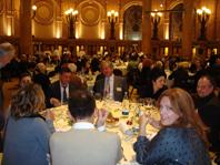 una veduta della sala con giornalisti, produttori e ospiti