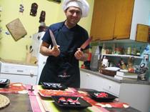 CUCINO PER VOI - Il Giappone sbarca a Sestri con il 'sushi di Andrea'