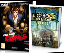GAME WORLD - Bioshock Rapture (libro e game) e New York Crimes (GIOCO PC)