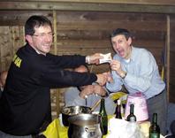 Il terzo tempo del Cornia: tra spaghettate, vino e... panettoni riciclati