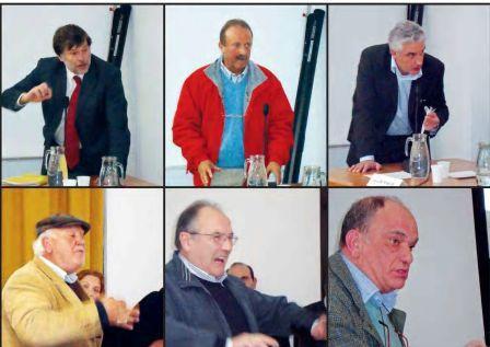 interventi accesi da parte di rappresentanti delle istituzioni e di cittadini