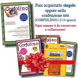 E' IN EDICOLA CORFOLINO3! Scopri dove trovarlo e l'incredibile OFFERTA TRIS: Corfolino1+2+3+ un gioco in scatola in omaggio!