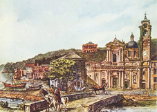"""Quando """"Santa"""" si chiamava Port Napoléon: il 22 dicembre 1812 i piccoli borghi rivali di San Giacomo e di Santa Margherita (l'antica Pescino) vennero uniti da Napoleone in un unico Comune"""