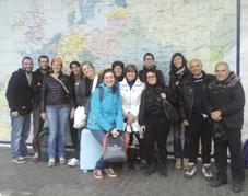 Al rientro, in stazione (Faenza) con alcuni dei partecipanti