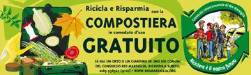 """CONCIME? """"NO GRAZIE, USO IL MIO COMPOST!"""" - Il Consorzio Rio Marsiglia distribuisce in comodato d'uso gratuito le compostiere per creare il proprio compost: riduci i rifiuti, salvi l'ambiente e... il tuo portafoglio"""
