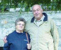 Luigi Bacigalupo e Maria Grazia Bernardin oggi