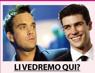 Incredibile: Robbie Williams e Roberto Bolle a Lumarzo?