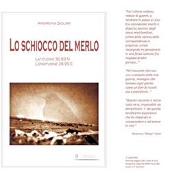 """28 gennaio, CHIavari:""""per non dimenticare""""  presentazione libro  """" Lo schiocco del merlo"""" di Andreina Solari"""