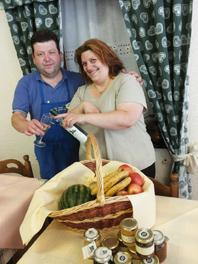 Trattoria di Donega: Il liquore al basilico di Natalina