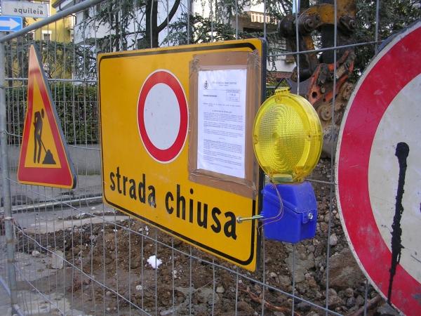 ATTENZIONE: CHIUSO A CARASCO PONTE DI COMORGA (IPERCOOP) - RIAPERTA LA PROVINCIALE 30 FRA RECCO E CAMOGLI,