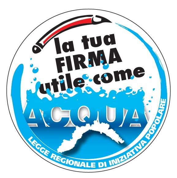 L'acqua è un bene dell'umanità: domenica 26 a Gattorna (durante la festa del fungo) raccolta firme per la nuova Legge regionale a tutela dell'acqua