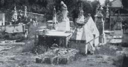 Cimitero di Bacezza: una piccola perla rasa al suolo in nome dei soldi. Ora c'è una villa.
