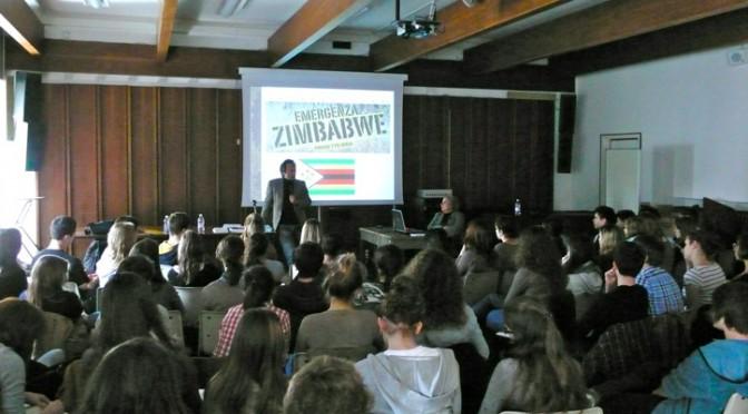 Mercoledì 26 novembre, Recco: La solidarietà rende felici, la testimonianza di Marcello Girone, dall'Italia allo Zimbabwe