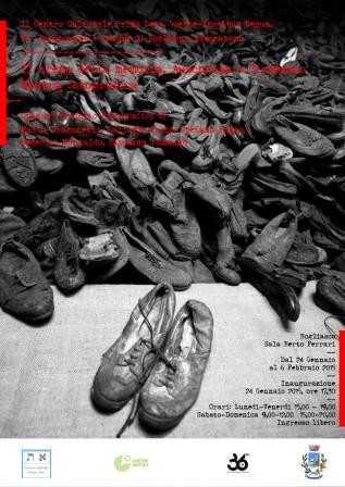 Giorno della Memoria 2015 - la targa a un ligure deceduto a Dachau e la Mostra che ripercorre i viaggi in treno dei deportati. Dal 24 gennaio, Bogliasco