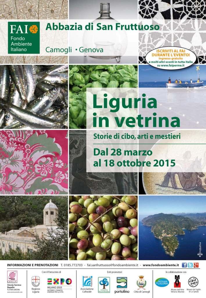 """""""Liguria in vetrina"""": in mostra a Camogli le """"Storie di cibo, arti e mestieri"""" del nostro territorio. Fino al 18 ottobre, Abbazia di San Fruttuoso"""