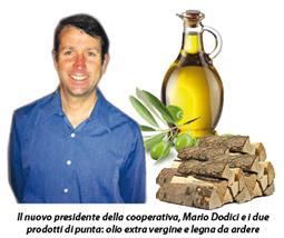 Olio,legna e pulizia e gestione di uliveti e noccioleti: la rinnovata cooperativa agricola di Mezzanego rilancia con nuovi prodotti e servizi tipici dell'entroterra