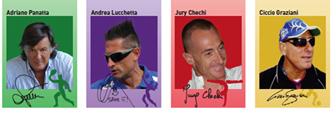 """7 Maggio """"Un Campione per Amico"""" a Chiavari Adriano Panatta, Andrea Lucchetta, Francesco Graziani e Jury Chechi per trasmettere ai giovani i valori dello sport e della vita"""