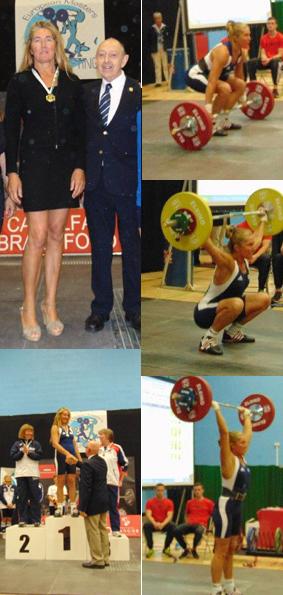 Campionessa europea e mondiale imbattuta dal 2009 e record del mondo di sollevamento pesi: con l'ennesimo oro la fontanina Susanna Perrone entra nella Top List delle migliori atlete di ogni tempo