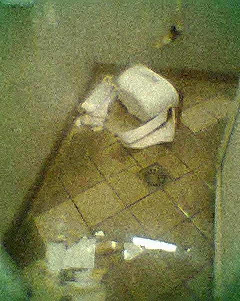 wc vandalizzato