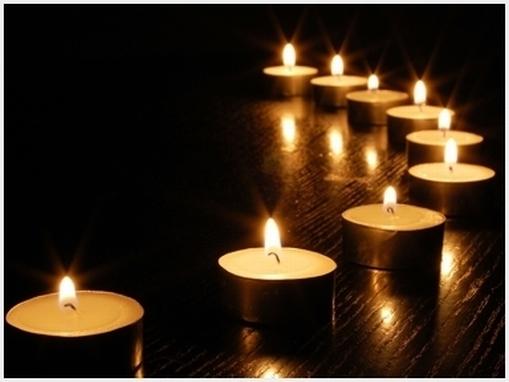 Risultati immagini per lutto candela