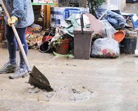 Alluvione: aiuti (pochi) per chi ha subito danni a ottobre, ma non per chi li ha subiti a novembre