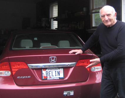 """""""Belin, che targa!"""" - Un genovese emigrato in America nel giro di poche ore è diventato il paladino dei liguri nel mondo"""