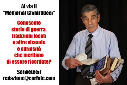 Al via il Memorial Ghilarducci: conoscete storie di guerra, tradizioni locali o altre vicende che meritano di essere ricordate? Scriveteci!