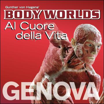 """GENOVAGANDO (cosa vedere) - Alla mostra """"Body Worlds"""" per trovarsi faccia a faccia col proprio cuore"""