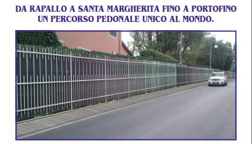 """Pundi di (s)vista di Michela De Rosa - La passeggiata di Rapallo """"unica al mondo""""? Una ringhiera"""