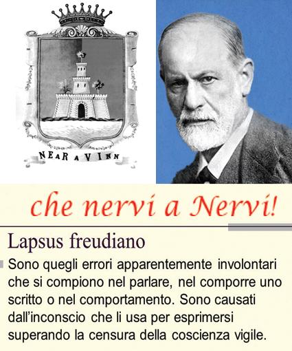 """Perché si chiama così? - NERVI: quando Nervi causò un """"lapsus freudiano""""... a Freud!"""