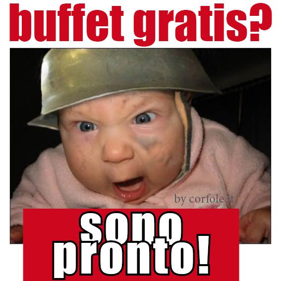 BUONMESE di Giansandro Rosasco - Il buffo buffet: i 7 tipi che incontri (+1)