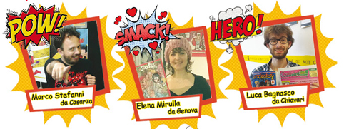 Luca, Elena e Marco: dal debutto nella nostra redazione alle librerie. Ti piace scrivere o disegnare? Il mercato dei fumetti è in crescita!
