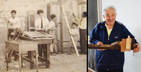 Quando i falegnami lavoravano in giacca e cravatta! Franco racconta una passione tramandata per generazioni e gli attrezzi ormai da museo: sai riconoscerli?