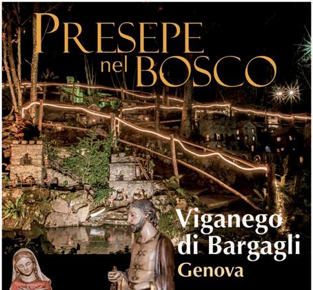 Il Presepe nel Bosco a Viganego di Bargagli: una magia con mulini, frantoi e strafie in movimento e i trallallero genovesi che riecheggiano tra le case