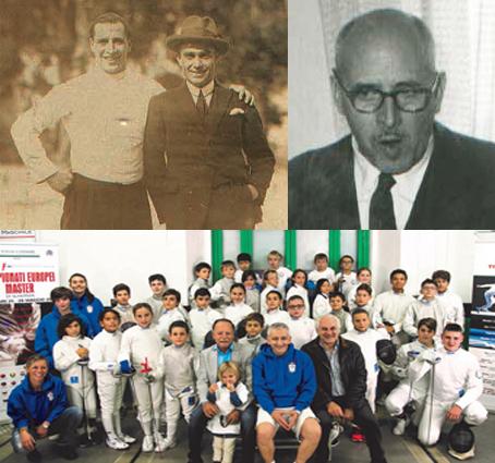 Mario Volponi, il medico spadaccino. Si trovò alle Olimpiadi con De Cubertin e fu anima dello sport locale