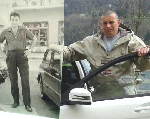 """Le avventure di un tassista di paese: le battute di caccia con l'autista, gli emigrati in america che volevano fare il giro d'Italia e le """"signorate"""" ai matrimoni"""