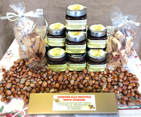 """""""MISTO CHIAVARI"""": nato un marchio per valorizzare le nocciole locali - Il giorno di Pasquetta degustazione in frantoio (Ore 16.00-19.00)"""