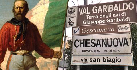 """PERCHE' SI CHIAMA COSI'? NE, tra i cinque comuni d'Italia col nome più breve, diede i natali a Garibaldi - e poi, perché le famose miniere si chiamano """"di Gambatesa""""?"""