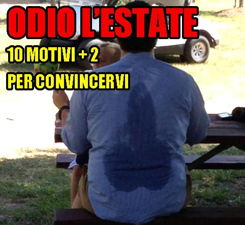 BUONMESE di Giansandro Rosasco - ODIO L'ESTATE