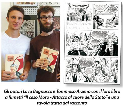 Caso Moro: è di due giovani fumettisti chiavaresi il libro che illustra questa vicenda ancora carica di misteri