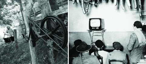 Come si viveva senza frigo, lavatrice e tv? La ghiacciaia, il lavatoio, il carbonaio, le strafie e le serate al bar