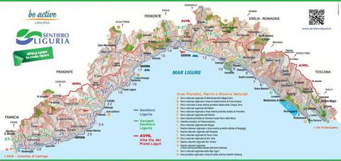 """Aperto il """"Sentiero Liguria"""": il sogno di attraversare tutta la regione a piedi ora è possibile"""