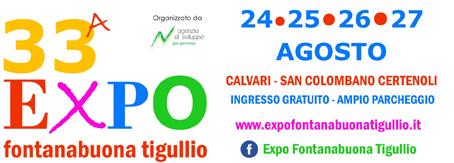 """24-27 agosto 33a Expo Fontanabuona Tigullio: """"I love my land""""."""