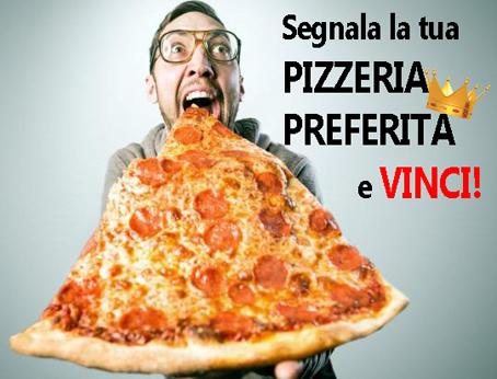 Specchio specchio delle mie brame.. chi fa la pizza regina del reame? Segnala la tua pizzeria preferita e vinci una cena per due!