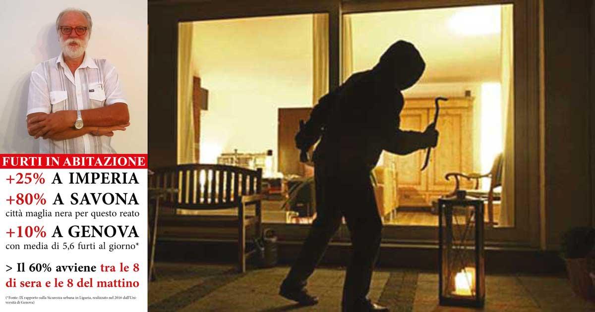 Furti in casa in aumento: gli errori da non fare e come difendersi