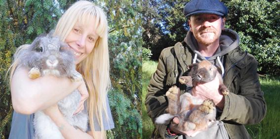 La collina dei conigli è a Borzonasca: Didì e Andrea li salvano dal macello e curano i roditori problematici