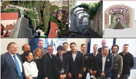 La rinascita dell'antico porticato di Villa Durazzo e la creazione del Parco Nazionale di Portofino: due sogni diventano realtà
