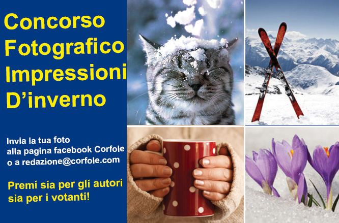 """Concorso fotografico """"Impressioni d'inverno"""": racconta questa stagione con uno scatto"""