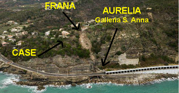 Il suolo si disfa sotto di noi: in Liguria in cinquecentomila a rischio frane e dissesto